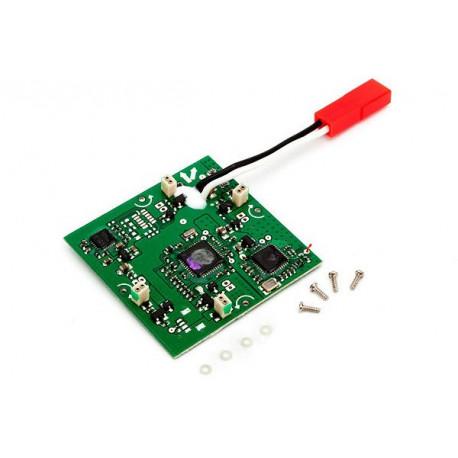 MQX Quad Copter-Unite de contrôle 4 en 1 Rx Varios Mixeur Gyros (BLH7501) - E-fl