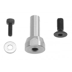 Guide pulley support - Front side (MSH71007)