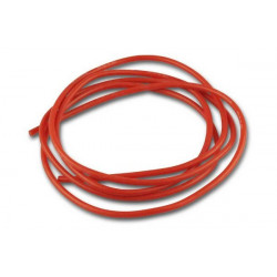 Cable de silicone - 0.75mm² x 1.000mm - rouge