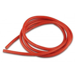 Cable de silicone - 4mm² x 1.000mm - rouge