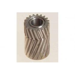 Pinion for herringbone gear 19 teeth M0.5 for LOGO (04119)