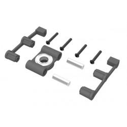 Pallier d'axe principal superieur/Upper bearing block for main rotor shaft LOGO 480 (04816)