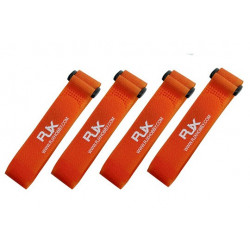 RJX Battrey Strap (300X20mm x4pcs) Orange (T6011-OS)