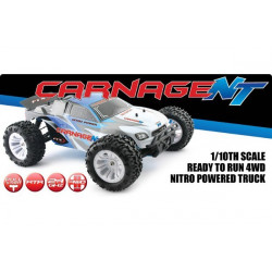 FTX Carnage 1/10 Nitro Truck 4WD 2.4Ghz RTR (FTX5540)