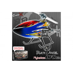 CopterX - CX450 Black Angel DFC Flybarless Kit (CX-450BADFCFBL-ARF)