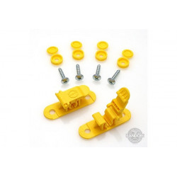 Random Heli Attache rapide de transport/Skid Clamp Assembly 5.5mm-6.5mm Yellow (STC5565-Y)