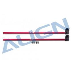 150 DFC Tail Boom-Red Alu (H15T002XRT)