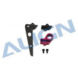 150 DFC Metal Tail Motor Mount/Kit AC alu (H15T003XXT)
