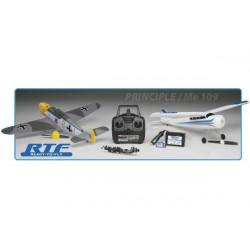 AirCore Avion Trainer Principle et warbird Me 109 RTF DuoPack RTF 2,4Ghz (FLZA3901)