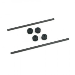 E-flite Body Mount Rod and Grommet Set: BCX/2 (EFLH1226)