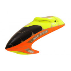 Canopy LOGO 550 XX neon-yellow/neon red (04805)