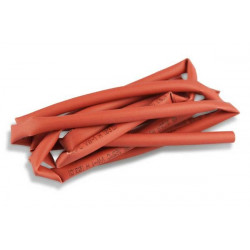 Gaine thermoretractable  - Shrink tube 3mm x 1m red