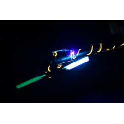 HP 450 Tail Blades - Glow in the dark with 5mm UV LED 59,6mm