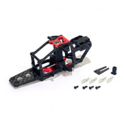 Carbon Fiber Frame (Red) - Trex 150