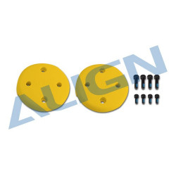 Multicopter Main Rotor Cover- Yellow (M480017XET)