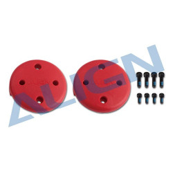 Multicopter Main Rotor Cover- Red (M480017XRT)
