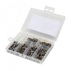 TLR 8ight 3.0 - Kit de visserie acier inox (DYNH1020)