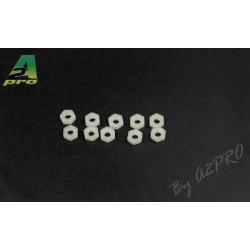 Ecrous Nylon M4 (10 pcs) (27004)