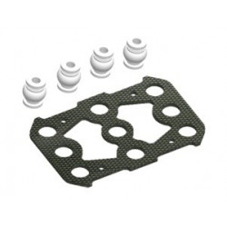 Full Carbon fixing board(top) for S250/S250Agility Carbon Frame/ARF (SPX-83019)