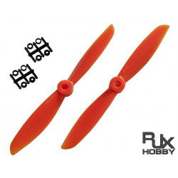 RJX ABS  6045 Blades Quadcopter CW&CCW (Orange) (M1008O)