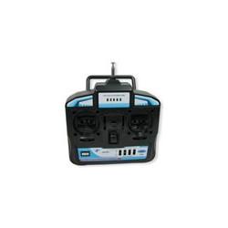 Radio control 4CH(include receiver, 9g servo x 3 ,flight SIM, USB Cable)