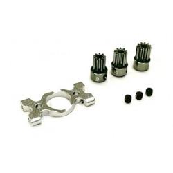 Motor Mount and Pinion Gears Set (9, 10, 11T) -B180CFX