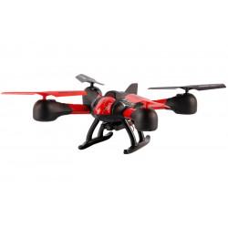 Drone Sky Hawkeye HD Camera FPV Noir/Rouge
