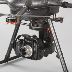 DRONE YUNEEC H920 +Nacelle/Camera V18+2xRadio ST24+Steadygrip+3 batteries+Valise RTF (Team Version)