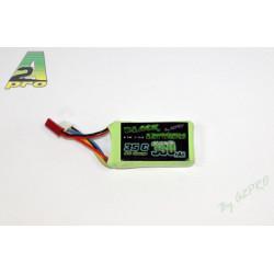 Batterie Black Lithium 350mAh 35C 3S (37 grs) (9035330)
