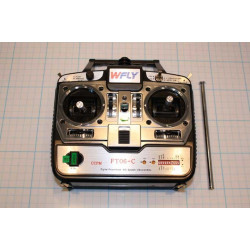 Transmitter WFly FT06-C 40Mhz Mode 2