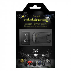 Parrot MiniDrones - Pack batterie + chargeur (PF070182AA)