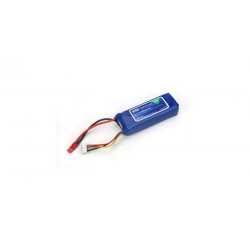Accu Li-Po 800mAh 3S 11.1V 30C 18AWG JST (EFLB8003SJ30)