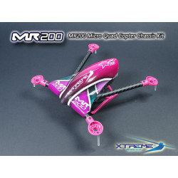 MR200 Micro Quad Copter Chassis Kit (Purple Canopy)