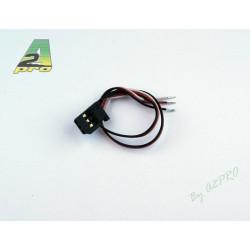 Cordon servo Futaba 30cm - cable 0.10mm²