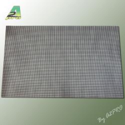 Grille PVC droite 185x290x0.32mm (261101)