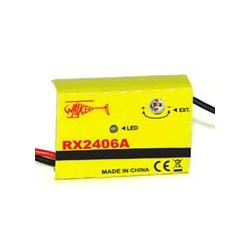 Receiver - RX2406A (upgrade to brushless version)