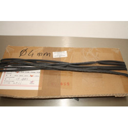 4mm Heat Shrink Tube Black 1m