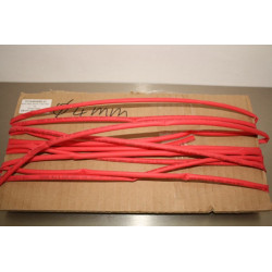 4mm Heat Shrink Tube Red 1m