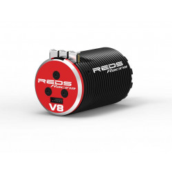 MOTEUR BRUSHLESS REDS V8 2100KV 4 POLES SENSORED (REDMTEG0002)