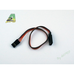 Rallonge 17.5cm JR - cable 0.30mm2 (13065)