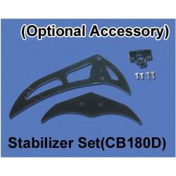support block  for CB180D - Black (Ref. Scorpio ES121-24)