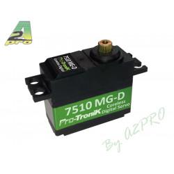 Servo Numerique Coreless 7510 MG-D (4.46kg / 0.07s) (77510)