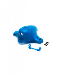 Canopy,Blue: Inductrix FPV (BLH8504BL)