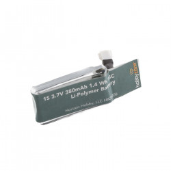 Battery 380mAh 1S 3.7v: Zugo (HBZ8706)