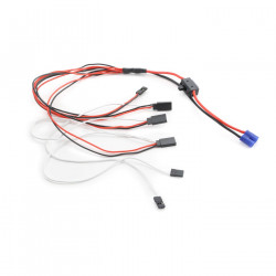 On/Off Swtich and Wiring Harness: MTXL (LOS15000)