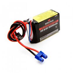 3000mAh 2S 6.6V Li-Fe Receiver Battery (SPMB3000LFRX)