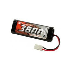 SC3600T NiMH Stick Pack - 7.2V 3600mAh - Dean / Tamiya connector (SC3600)