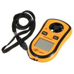 Gm8908 poche vent indicateur de vitesse mètre anémomètre thermomètre numérique (GM8908)