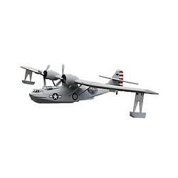 DYNAM PBY CATALINA TWIN GREY 1470mm w/o TX/RX/Batt