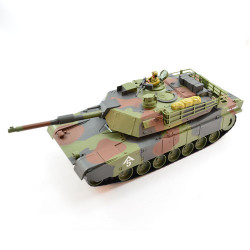 HOBBY ENGINE M1A1 ABRAMS 1/20 2.4G SPLASH PROOF TANK - CAMO